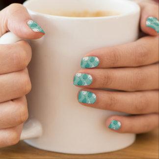 pattern with fish 2 minx nail art