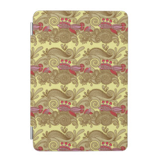 Pattern With Fish And Wave iPad Mini Cover
