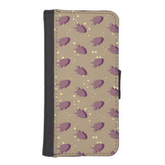 pattern with fish iPhone SE/5/5s wallet case
