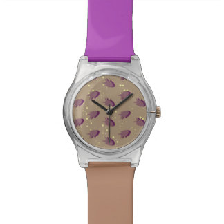 pattern with fish watch