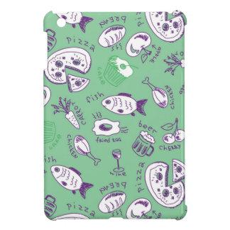 Pattern with Food iPad Mini Covers