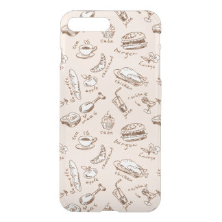 Pattern With Food iPhone 8 Plus/7 Plus Case