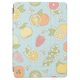 Pattern With Fruits And Berries iPad Air Cover