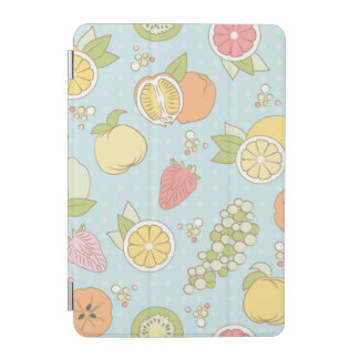Pattern With Fruits And Berries iPad Mini Cover