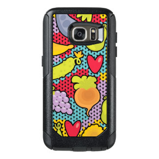 Pattern with fruits and vegetables OtterBox samsung galaxy s7 case