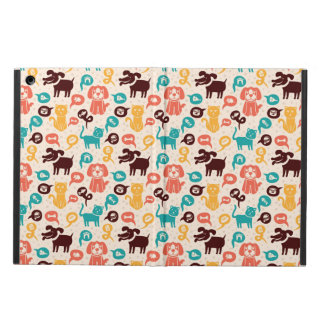 Pattern With Funny Cats And Dogs iPad Air Cover