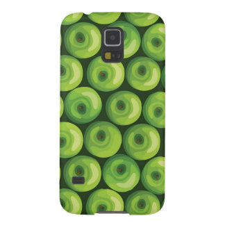 Pattern with Green Apples Cases For Galaxy S5