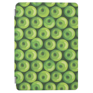 Pattern with Green Apples iPad Air Cover