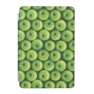 Pattern with Green Apples iPad Mini Cover