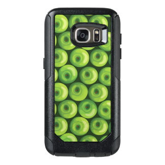 Pattern with Green Apples OtterBox Samsung Galaxy S7 Case