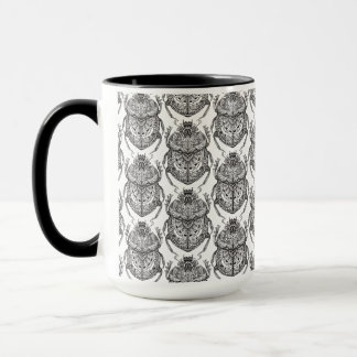 Pattern With Hand Doodle Mug