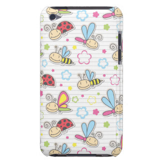 pattern with insects barely there iPod covers
