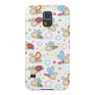pattern with insects case for galaxy s5