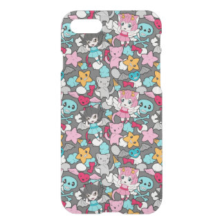 Pattern with kawaii doodle iPhone 8/7 case
