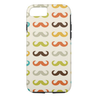 Pattern with mustache iPhone 8/7 case