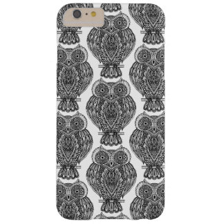 Pattern With Owls Doodle Barely There iPhone 6 Plus Case