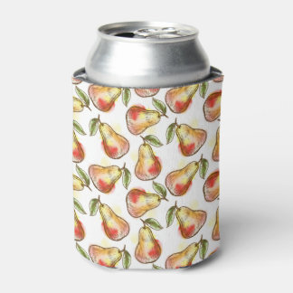 Pattern with pear can cooler