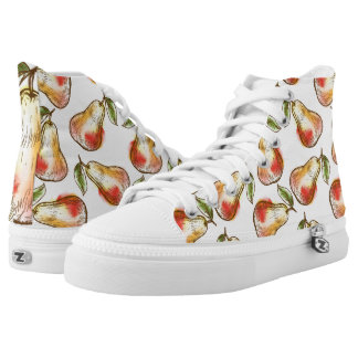 Pattern with pear high tops