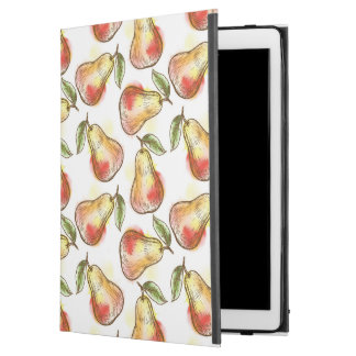 """Pattern with pear iPad pro 12.9"""" case"""