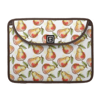 Pattern with pear sleeve for MacBook pro