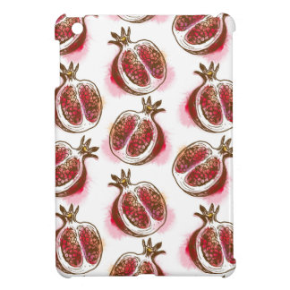 Pattern with pomegranate case for the iPad mini