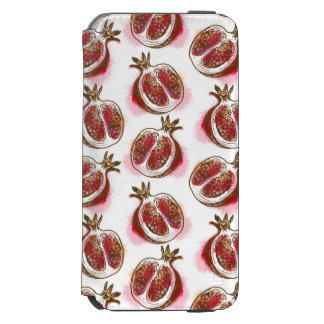 Pattern with pomegranate incipio watson™ iPhone 6 wallet case