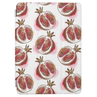 Pattern with pomegranate iPad air cover