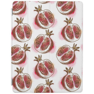 Pattern with pomegranate iPad cover