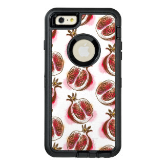 Pattern with pomegranate OtterBox iPhone 6/6s plus case