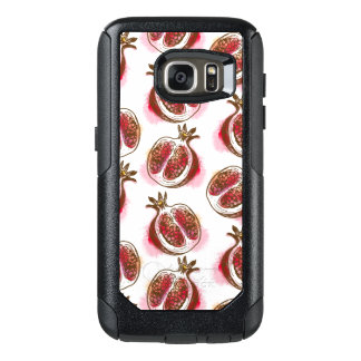 Pattern with pomegranate OtterBox samsung galaxy s7 case