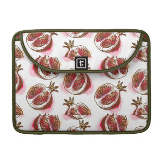 Pattern with pomegranate sleeve for MacBooks