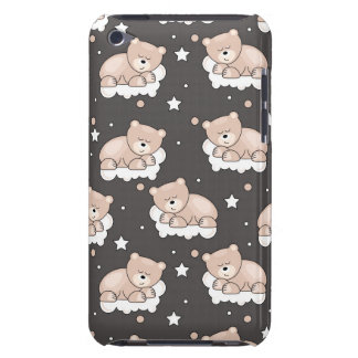 pattern with small bear sleeping iPod touch Case-Mate case