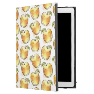 "Pattern with yellow apple iPad pro 12.9"" case"