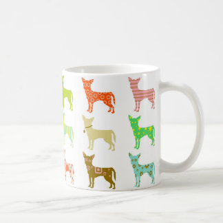 patterned-chihuahuas coffee mug