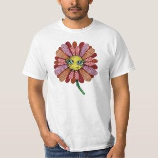 Patterned Flower T-Shirt