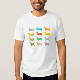 patterned-hound-dogs shirt