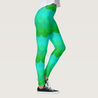 Patterned Leggings MERMAID