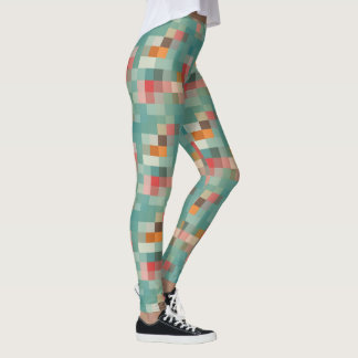 Patterned Leggings PIXELS