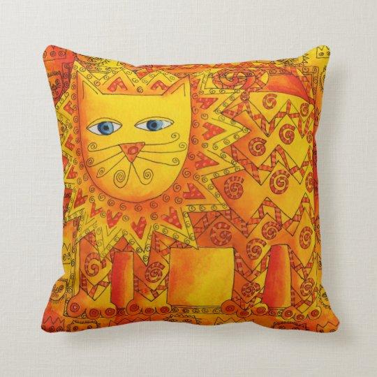 Patterned Lion Cushion