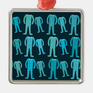 Patterned Pajama Party Christmas Ornament