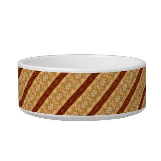 Patterned Pet Bowls. Cat Food Bowl