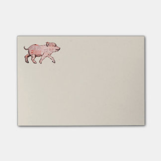 Patterned Piggy Post-it® Notes