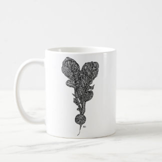 Patterned Radish Mug