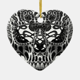 Patterned Skull.png Christmas Ornament