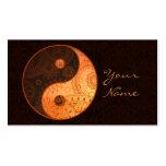 Patterned Yin Yang Gold