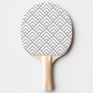 patterns05 GRAY Ping Pong Paddle