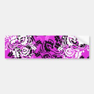 patterns design bumper sticker