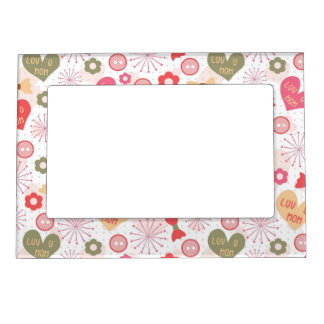 Patterns for Mother's Day Magnetic Picture Frame