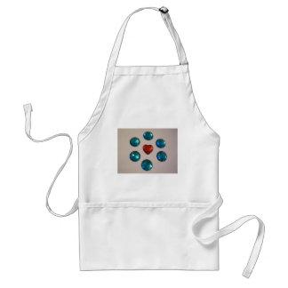 Patterns of color standard apron
