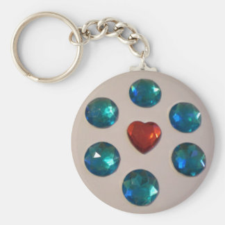 Patterns of color key ring